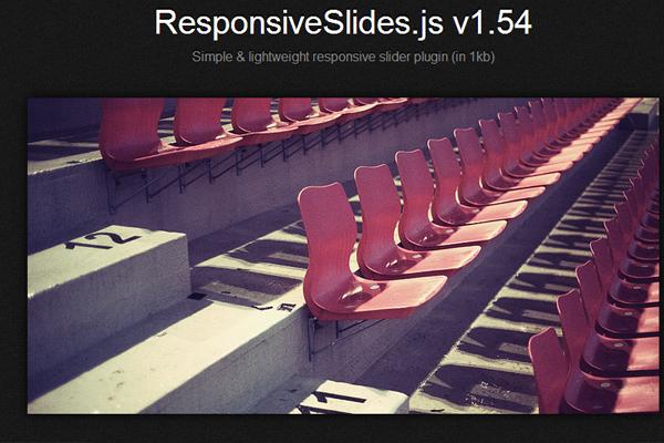 responsive slides js jquery plugin slideshow
