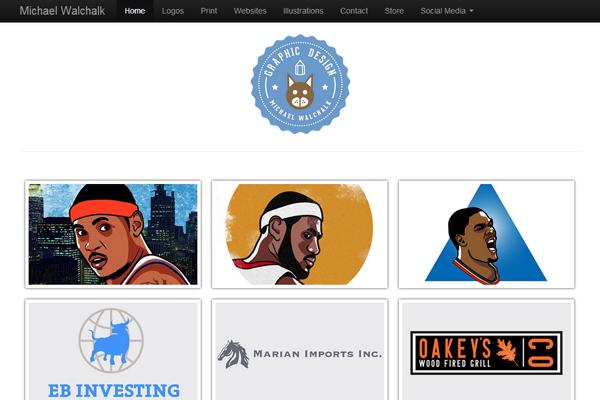 michael walkchalk website portfolio designer