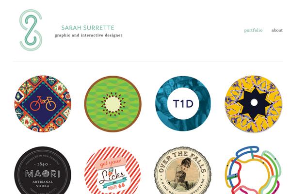sarah surrette graphics designer portfolio