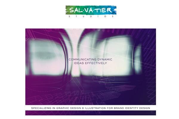 dennis salvtier studios portfolio website