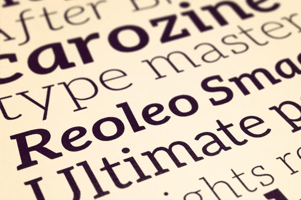 free web font typography design aleo