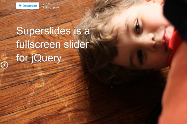 superslides open source jquery plugin slideshow