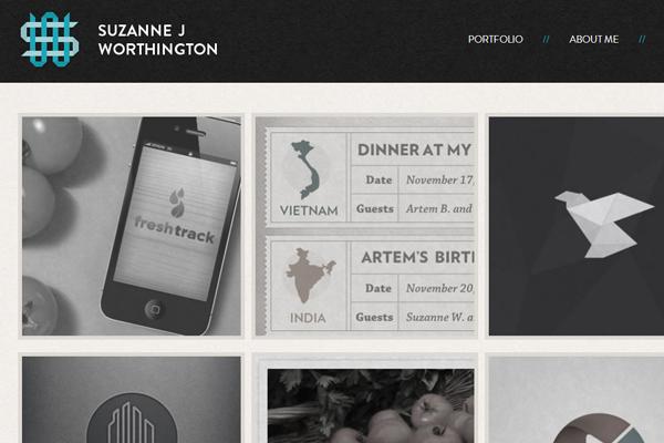 suzanne j worthington website portfolio