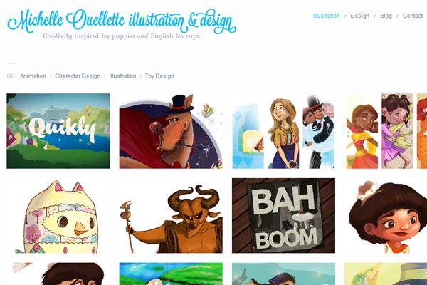 michelle ouellette illustration designer portfolio