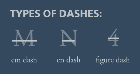Dashes, Quotes and Ligatures: Typographic Best Practices