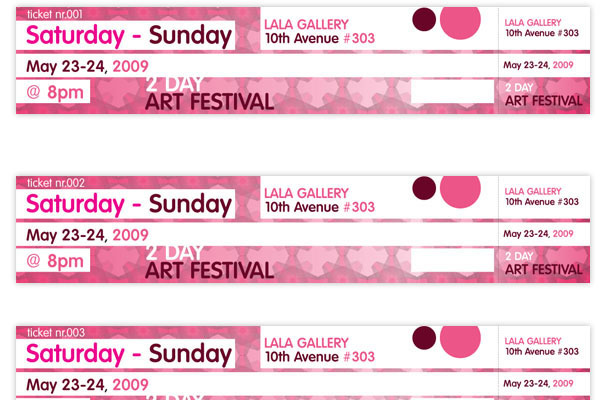 create numbered tickets the easy way indesign