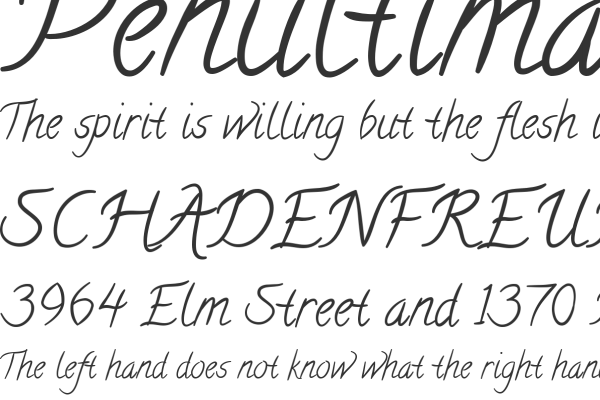 calligraffiti open source free font