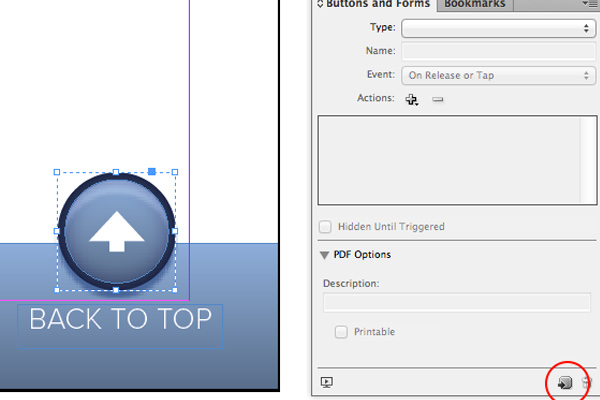 adobe indesign long documents back to top howto