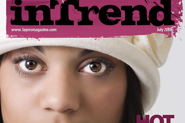 indesign pink tutorial magazine cover howto