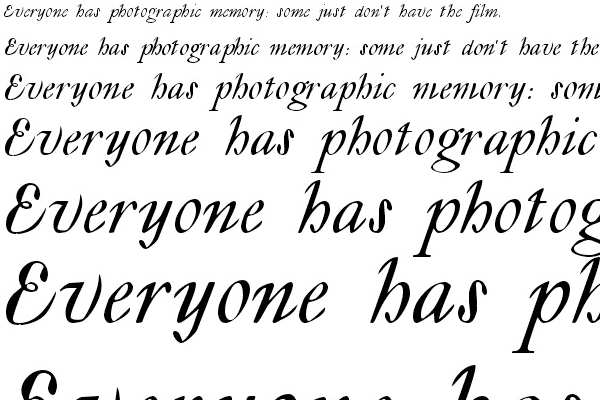lyonesse open source font calligraphy