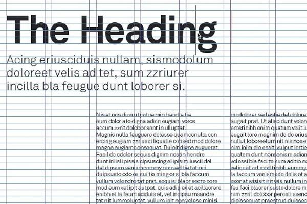 Newspaper Ad Template Indesign Adobe indesign typographic