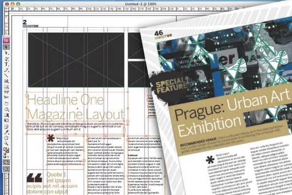 tutorial how to plan templates adobe indesign