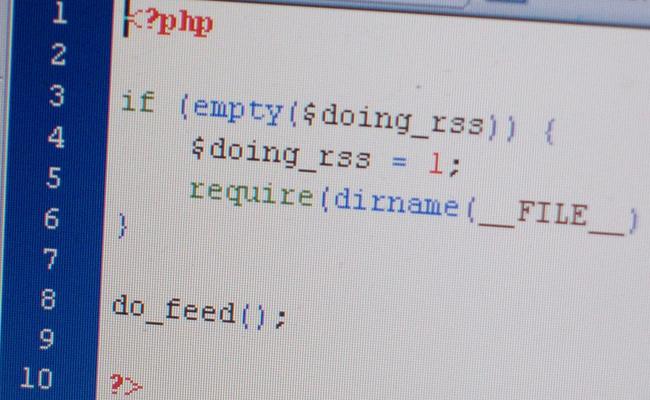 wordpress theming php code web development