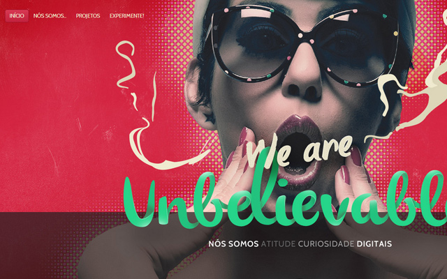 red agency kaus wordpress design layout