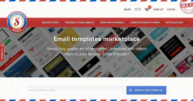 Stamplia The Home Of Responsive Email Templates Enticing Deals For - Responsive transactional email template