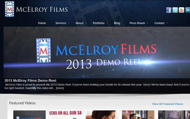 mcelroy films production company website