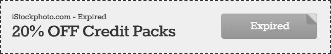 Expired 20% Off iStock Promo Code