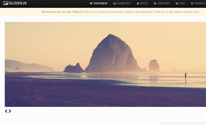slidesjs open source jquery javascript plugin slideshow