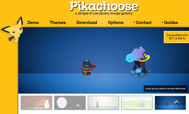 pikachoose jquery plugin open source codes