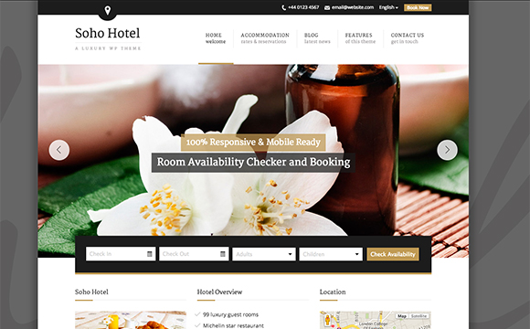 8+ Best Travel and Hotel Bootstrap Templates download Free ~ free ...