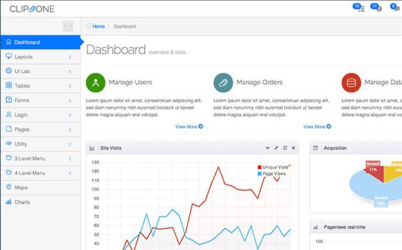 31 Admin Backend Dashboard Templates - DesignM.ag