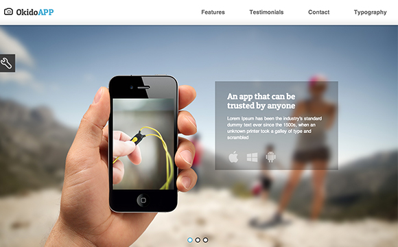 Mobile App Landing Page Templates DesignMag - Splash website templates