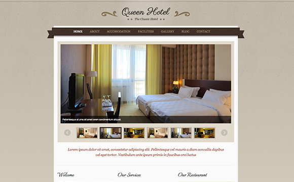 22 hotel and resort website themes for Design hotels ag