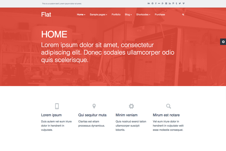 """Flat:"
