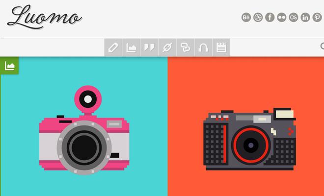 luomo tumblr theme expressive premium design
