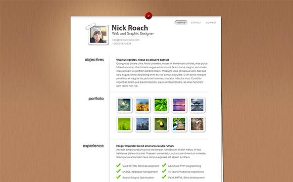 35 virtual business card resume website themes designmag
