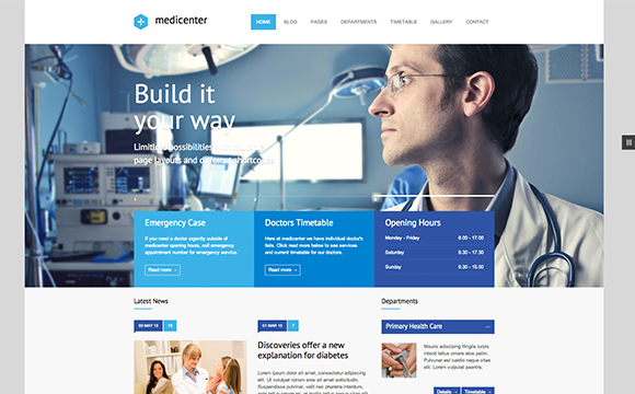 health wordpress themes free  24 Medical and Health Related Themes - DesignM.ag
