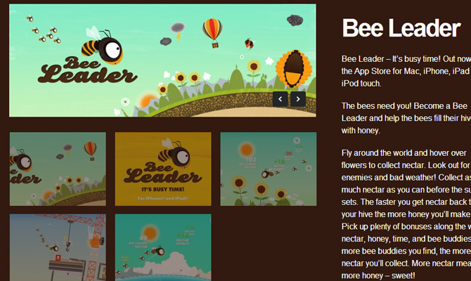 bee leader project flightless inspiring design