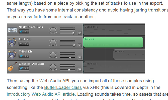browser game audio web api htmnl5 howto tutorial
