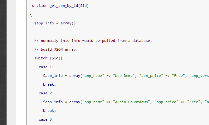 simple php rest api tutorial open source