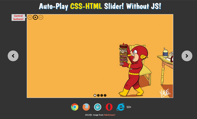amazing css slider open source