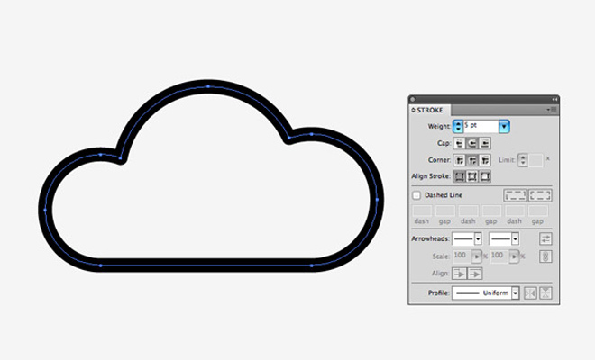 tutorial vector based line icons weather