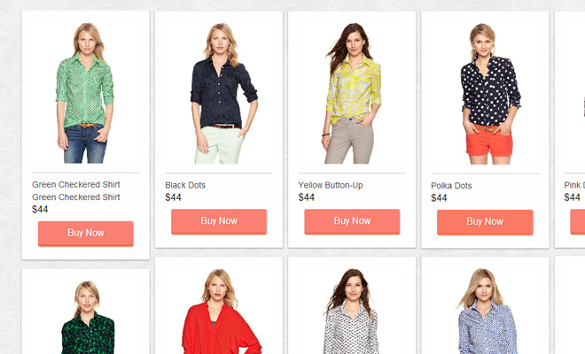 ecommerce column css open source