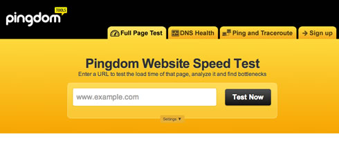 Free Tools for Testing website Speed