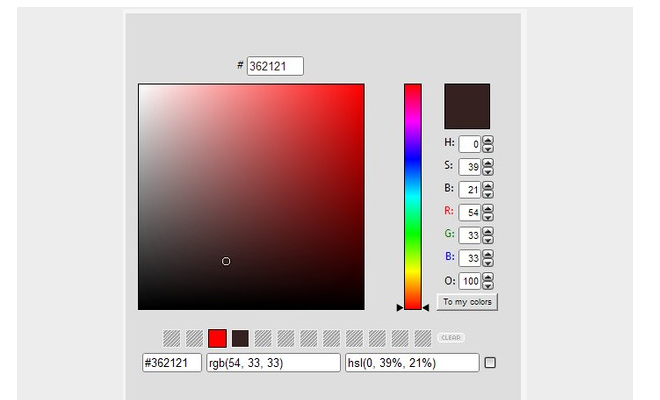 Extensions Color Picker 61