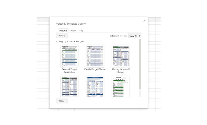 google drive extension addon sheets spreadsheets templates