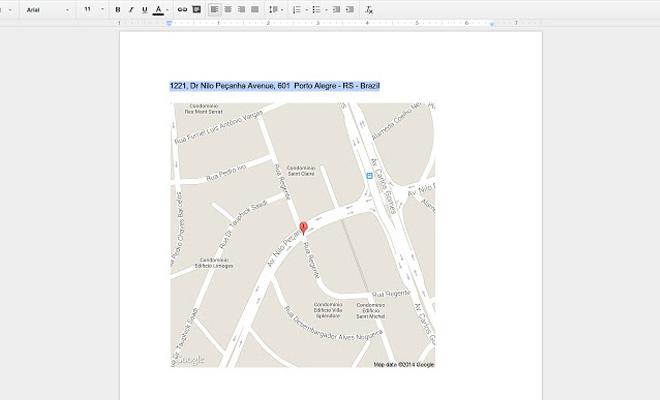 google docs drive maps extension addon