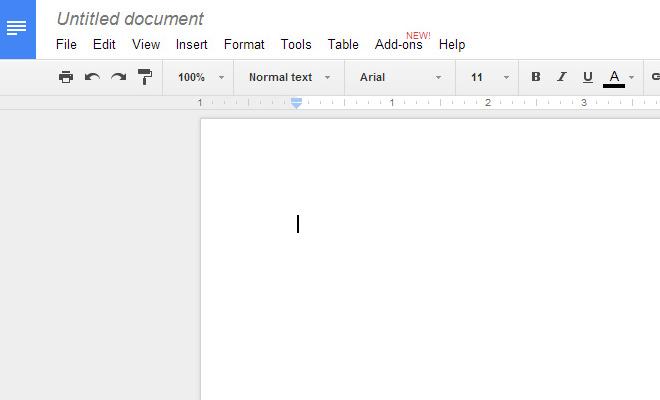 google docs drive addons screenshot new feature
