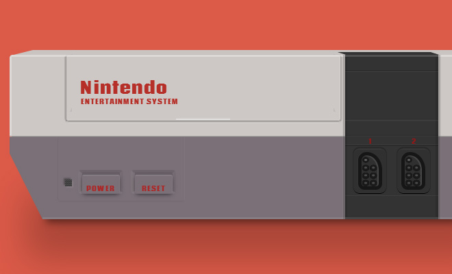 nintendo entertainment system css icon open source