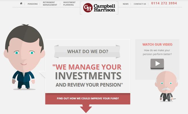 campbell harrison website character vectors