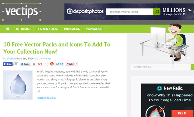 vectips vector illustrator tutorial website blog