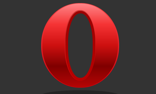 red opera logo design icon vector css