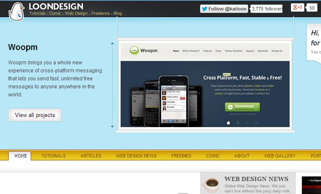 kailoon web designer vector shapes layouts