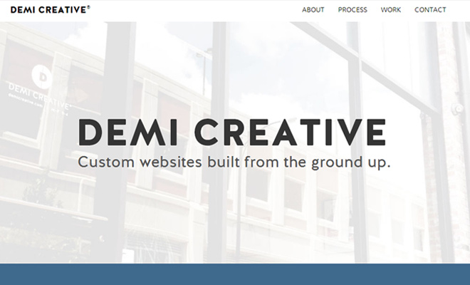27 Clean & Responsive Design Agency Website Layouts - DesignM.ag