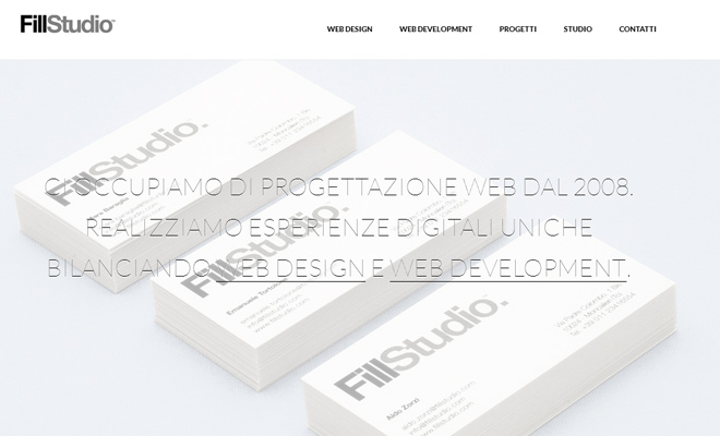 fill studio clean simple responsive website portfolio