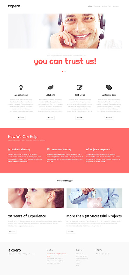 Consulting Firm WordPress Theme